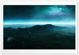 Alien Landscape HD Wide Wallpaper for 4K UHD Widescreen desktop & smartphone