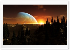 Alien Planet HD Wide Wallpaper for Widescreen