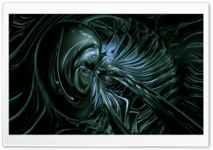Alienish HD Wide Wallpaper for 4K UHD Widescreen desktop & smartphone
