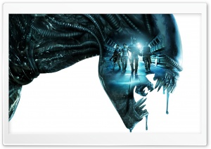 Aliens Colonial Marines HD Wide Wallpaper for 4K UHD Widescreen desktop & smartphone