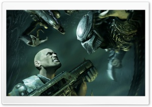 Aliens vs Predator Ultra HD Wallpaper for 4K UHD Widescreen desktop, tablet & smartphone