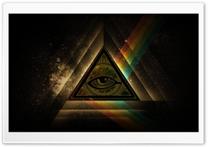 All Seeing Eye HD Wide Wallpaper for Widescreen