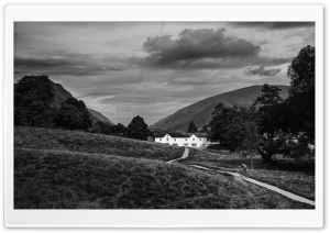Allan Bank, Grasmere HD Wide Wallpaper for 4K UHD Widescreen desktop & smartphone