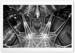 Allen Lambert Galleria Black and White HD Wide Wallpaper for Widescreen
