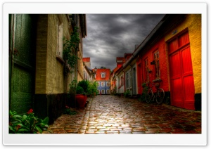 Alleyway HD Wide Wallpaper for Widescreen