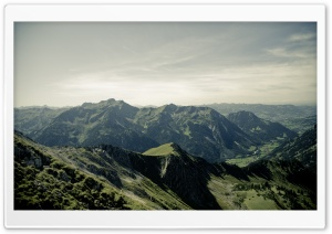 Allgau Alps Mountain Range HD Wide Wallpaper for Widescreen