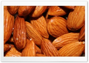 Almonds HD Wide Wallpaper for Widescreen