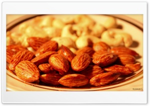 Almonds HD Wide Wallpaper for 4K UHD Widescreen desktop & smartphone