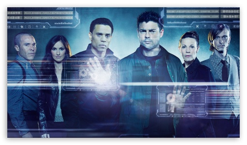 Download Almost Human TV series Cast HD Wallpaper