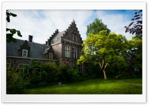Almshouse, Utrecht HD Wide Wallpaper for Widescreen