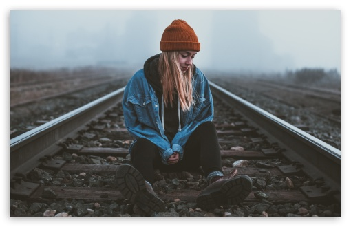 Alone Girl, Silent, Railroad UltraHD Wallpaper for Wide 16:10 5:3 Widescreen WHXGA WQXGA WUXGA WXGA WGA ; UltraWide 21:9 24:10 ; 8K UHD TV 16:9 Ultra High Definition 2160p 1440p 1080p 900p 720p ; UHD 16:9 2160p 1440p 1080p 900p 720p ; Standard 4:3 5:4 3:2 Fullscreen UXGA XGA SVGA QSXGA SXGA DVGA HVGA HQVGA ( Apple PowerBook G4 iPhone 4 3G 3GS iPod Touch ) ; Smartphone 16:9 3:2 5:3 2160p 1440p 1080p 900p 720p DVGA HVGA HQVGA ( Apple PowerBook G4 iPhone 4 3G 3GS iPod Touch ) WGA ; Tablet 1:1 ; iPad 1/2/Mini ; Mobile 4:3 5:3 3:2 16:9 5:4 - UXGA XGA SVGA WGA DVGA HVGA HQVGA ( Apple PowerBook G4 iPhone 4 3G 3GS iPod Touch ) 2160p 1440p 1080p 900p 720p QSXGA SXGA ; Dual 16:10 5:3 16:9 4:3 5:4 3:2 WHXGA WQXGA WUXGA WXGA WGA 2160p 1440p 1080p 900p 720p UXGA XGA SVGA QSXGA SXGA DVGA HVGA HQVGA ( Apple PowerBook G4 iPhone 4 3G 3GS iPod Touch ) ;