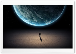 Alone In The Universe HD Wide Wallpaper for 4K UHD Widescreen desktop & smartphone