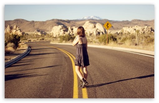 Alone On The Road HD wallpaper for Wide 16:10 5:3 Widescreen WHXGA WQXGA WUXGA WXGA WGA ; HD 16:9 High Definition WQHD QWXGA 1080p 900p 720p QHD nHD ; Standard 4:3 5:4 3:2 Fullscreen UXGA XGA SVGA QSXGA SXGA DVGA HVGA HQVGA devices ( Apple PowerBook G4 iPhone 4 3G 3GS iPod Touch ) ; Tablet 1:1 ; iPad 1/2/Mini ; Mobile 4:3 5:3 3:2 16:9 5:4 - UXGA XGA SVGA WGA DVGA HVGA HQVGA devices ( Apple PowerBook G4 iPhone 4 3G 3GS iPod Touch ) WQHD QWXGA 1080p 900p 720p QHD nHD QSXGA SXGA ;