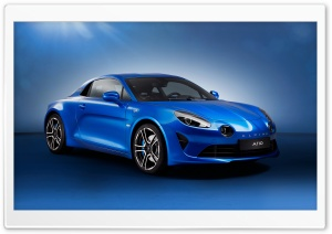 Alpine A110 2017 premiere edition HD Wide Wallpaper for 4K UHD Widescreen desktop & smartphone