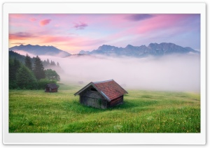Alps Meadow, Germany HD Wide Wallpaper for Widescreen