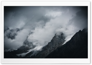 Alps Mountains, Clouds, Switzerland HD Wide Wallpaper for 4K UHD Widescreen desktop & smartphone