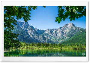 Alps Mountains Lake Landscape Ultra HD Wallpaper for 4K UHD Widescreen desktop, tablet & smartphone