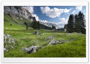 Alpstein Massif, Swiss Alps HD Wide Wallpaper for Widescreen