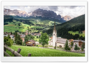 Alta Badia, a ski resort in the Dolomites, Italy Ultra HD Wallpaper for 4K UHD Widescreen desktop, tablet & smartphone