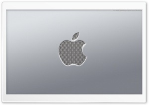 Aluminium Apple HD Wide Wallpaper for Widescreen
