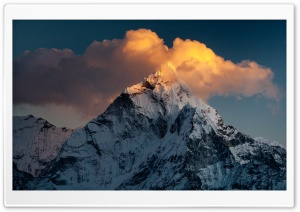 Ama Dablam Mountain Nepal HD Wide Wallpaper For 4K UHD Widescreen Desktop Smartphone