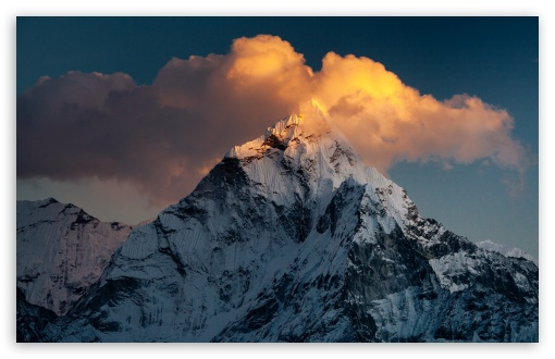 ama dablam mountain nepal wallpapers