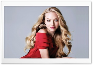 Amanda Seyfried HD Wide Wallpaper for Widescreen