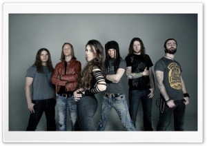 Amaranthe HD Wide Wallpaper for Widescreen