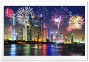 Amazing Fireworks HD Wide Wallpaper for Widescreen