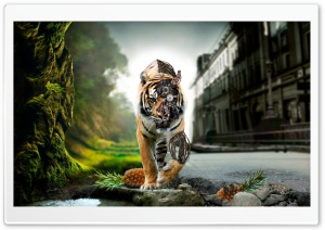 Amazing Lion HD Wide Wallpaper for Widescreen