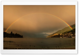 Amazing Rainbow HD Wide Wallpaper for Widescreen