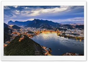Amazing Rio De Janeiro HD Wide Wallpaper for Widescreen