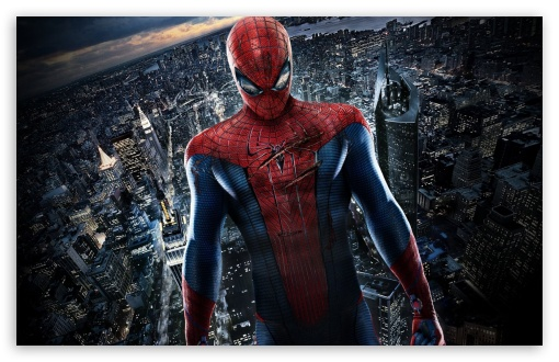 Amazing Spiderman HD wallpaper for Standard 4:3 5:4 Fullscreen UXGA XGA SVGA QSXGA SXGA ; Wide 16:10 5:3 Widescreen WHXGA WQXGA WUXGA WXGA WGA ; HD 16:9 High Definition WQHD QWXGA 1080p 900p 720p QHD nHD ; Other 3:2 DVGA HVGA HQVGA devices ( Apple PowerBook G4 iPhone 4 3G 3GS iPod Touch ) ; Mobile VGA WVGA iPhone iPad PSP Phone - VGA QVGA Smartphone ( PocketPC GPS iPod Zune BlackBerry HTC Samsung LG Nokia Eten Asus ) WVGA WQVGA Smartphone ( HTC Samsung Sony Ericsson LG Vertu MIO ) HVGA Smartphone ( Apple iPhone iPod BlackBerry HTC Samsung Nokia ) Sony PSP Zune HD Zen ; Tablet 2 ;