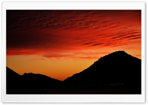 Amazing Sunset Sky Ultra HD Wallpaper for 4K UHD Widescreen desktop, tablet & smartphone