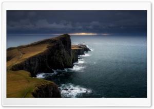 Amazing View, Neist Point Lighthouse, Isle of Skye, Scotland, UK Ultra HD Wallpaper for 4K UHD Widescreen desktop, tablet & smartphone