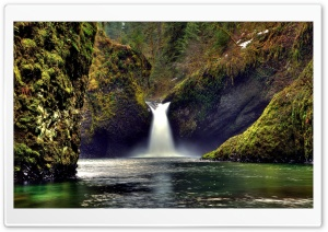 Amazing Waterfall HD Wide Wallpaper for Widescreen
