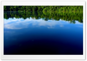 Amazon River Tilt Shift HD Wide Wallpaper for Widescreen