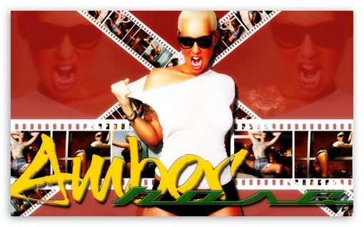 Amber Rose HD wallpaper for Wide 5:3 Widescreen WGA ; HD 16:9 High Definition WQHD QWXGA 1080p 900p 720p QHD nHD ; Mobile 5:3 16:9 - WGA WQHD QWXGA 1080p 900p 720p QHD nHD ;