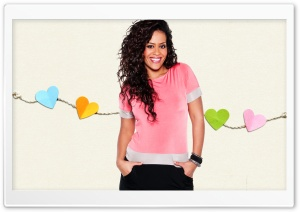 Amel Bent HD Wide Wallpaper for Widescreen