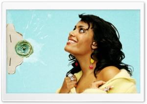 Amel Bent HD Wide Wallpaper for Widescreen