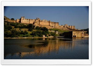 Amer Fort, India HD Wide Wallpaper for Widescreen