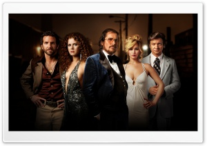 American Hustle HD Wide Wallpaper for Widescreen