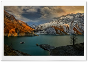 Amirkabir Dam HD Wide Wallpaper for Widescreen