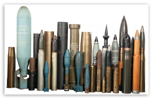 Ammunition HD Rocket UltraHD Wallpaper for Wide 16:10 Widescreen WHXGA WQXGA WUXGA WXGA ;