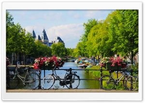 Amsterdam Ultra HD Wallpaper for 4K UHD Widescreen desktop, tablet & smartphone