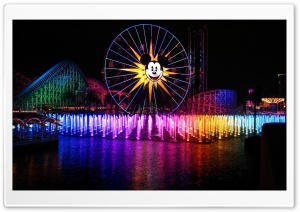 Amusement Park HD Wide Wallpaper for Widescreen