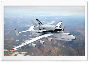 An-225 With Buran Shuttle Ultra HD Wallpaper for 4K UHD Widescreen desktop, tablet & smartphone
