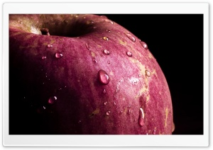 An Apple, For Your Thoughts HD Wide Wallpaper for Widescreen