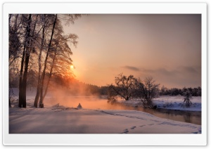 An Evening in December HD Wide Wallpaper for Widescreen