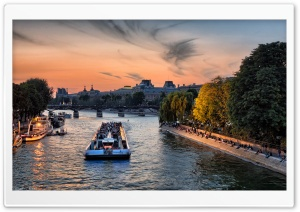 An Evening In Paris HD Wide Wallpaper for 4K UHD Widescreen desktop & smartphone